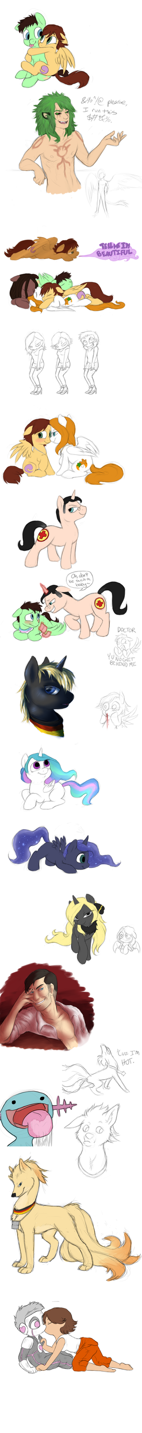 Livestream Doodles 24 by MelvisMD