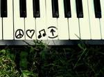 Peace, Love, Music, Above.