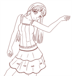 Frilly clothes by flawlessparadox