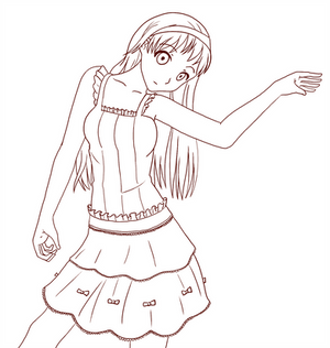 Frilly clothes