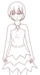 Pointy Dress by flawlessparadox