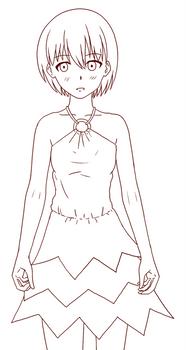 Pointy Dress
