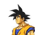 Goku Pixel by Cy689