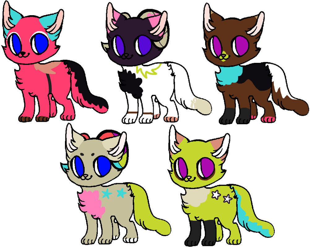 Kittens for Angelthekitty123 by MPCB