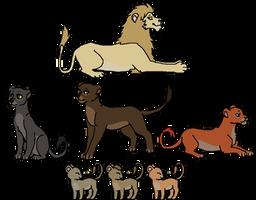 Lion Pride Adopts [7/7 OPEN]