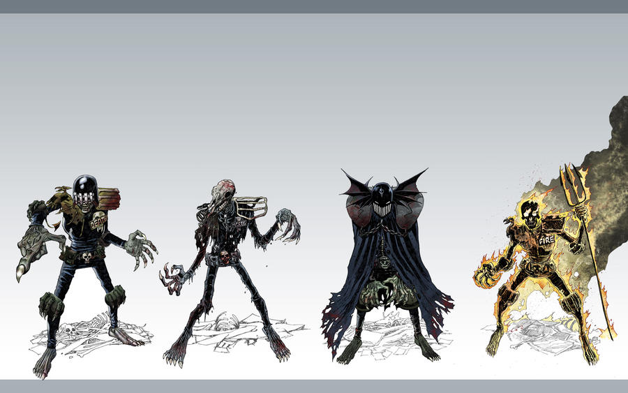 Dark Judges Higher Res Image by pauljholden