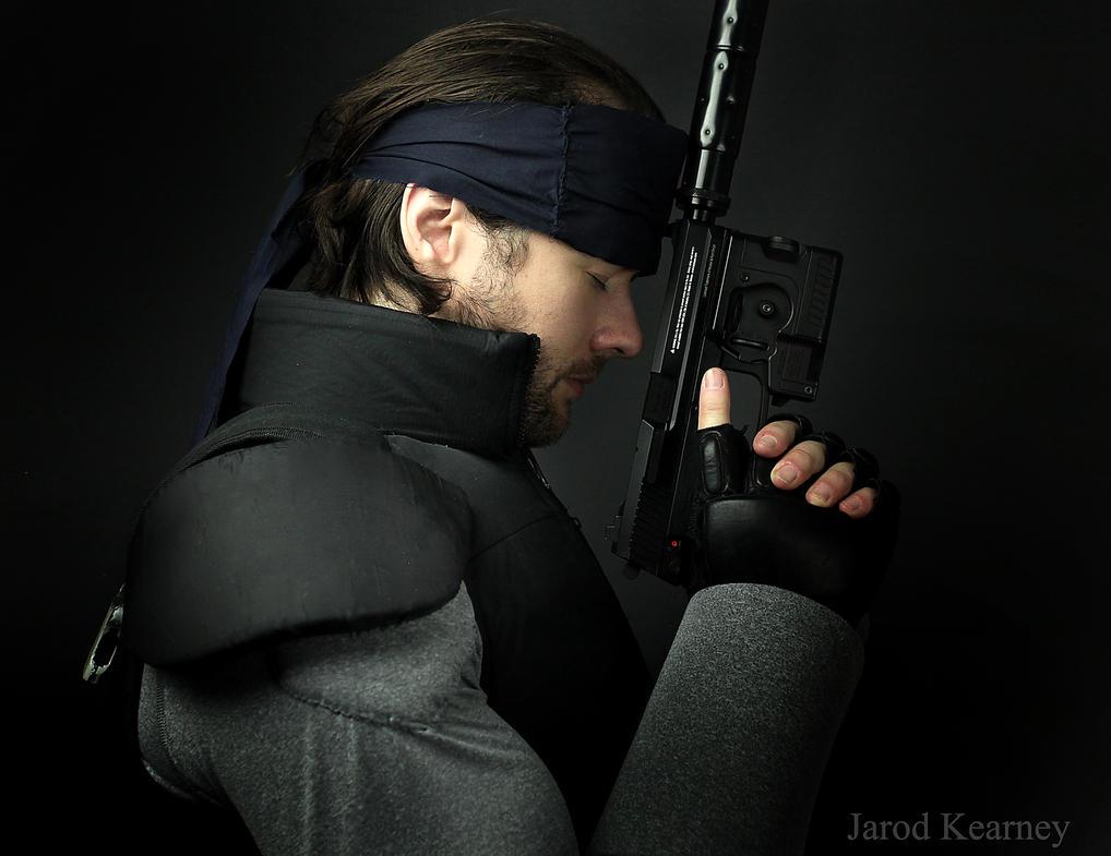Solid Snake by jarodkearney