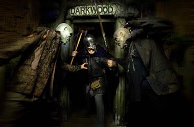 Zombies vs Viking by jarodkearney