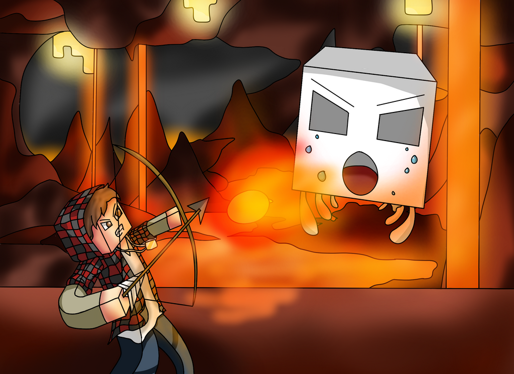 Bajan Canadian In The Nether By Abjectionz