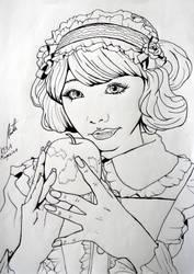 Apple in my eye - Snow White by Shiroimiko
