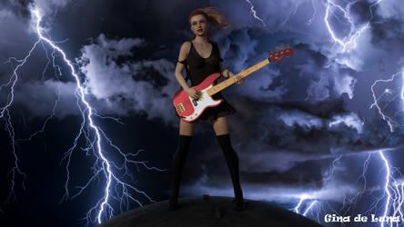 Deep Shag: Rina... Bassing up a Storm