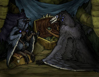 A conversation in Soulscape by Ferevran
