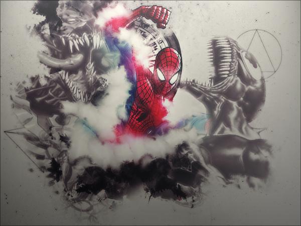 After a long break- Spiderman Spiderman_by_giladavny-d7c8zu1