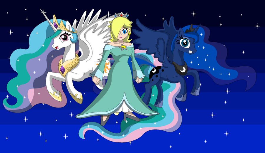 Celestial Princesses by Koopa-Master