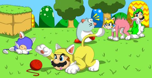 Super Meow-io Time