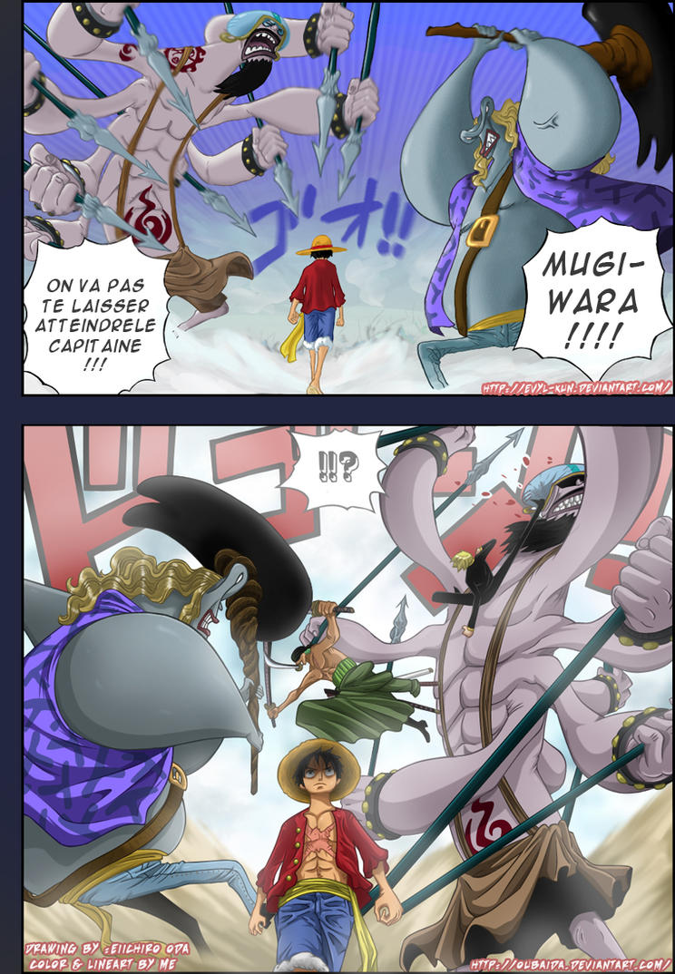 Colab OP chapitre 636 page 16 by Oubaida