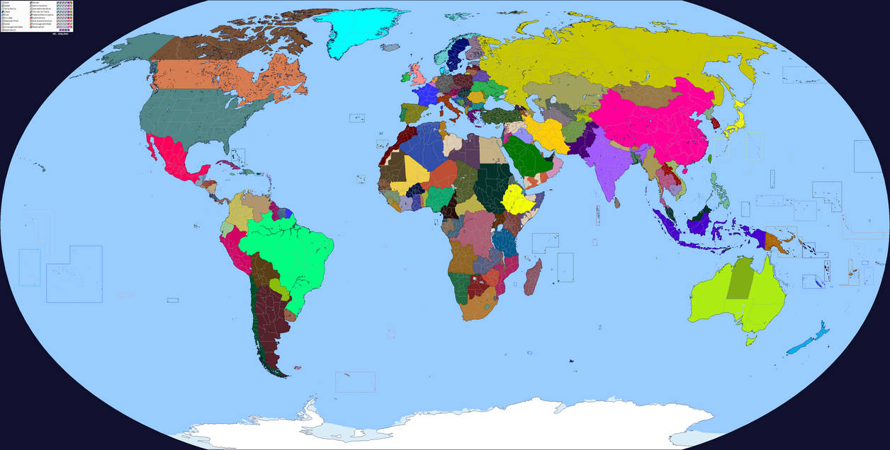 Modern Map Of The World.Modern World Map By Polandstronk On Deviantart