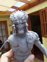 Predator sculpture by sanyaca