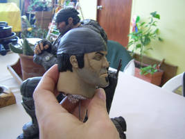 MArcus Fenix painting process by sanyaca