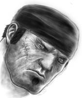 Marcus Fenix Sketch 2 by sanyaca