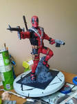 Deadpool Statue finished