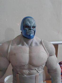 Darkseid sculpture WIP 2