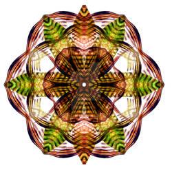 Autumn Leaf Mandala 2