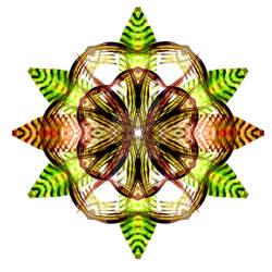 Autumn Leaf Mandala 3