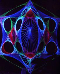 UV Stringart 3D Structure 3