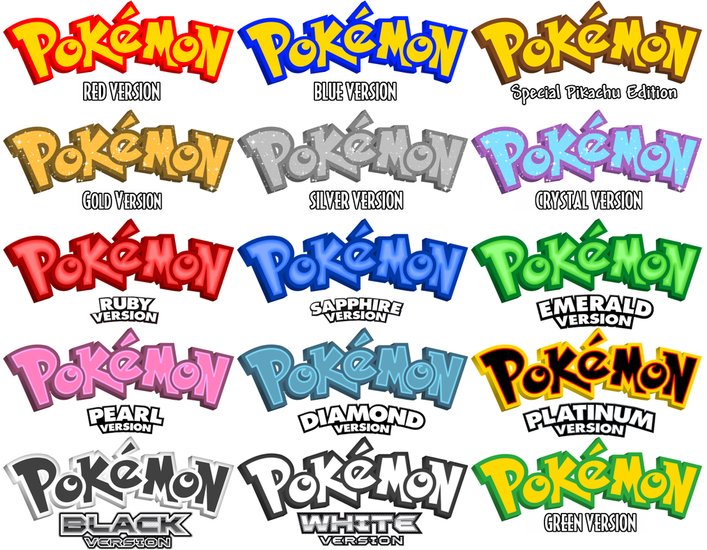 Pokemon Logo Design Concepts 364243648