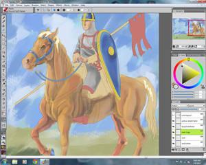 Norman Horsemen WIP