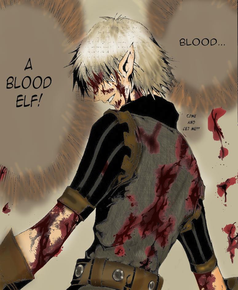 Blood Link Manga Chapter 8: Blood Elf By Agiaht On DeviantArt