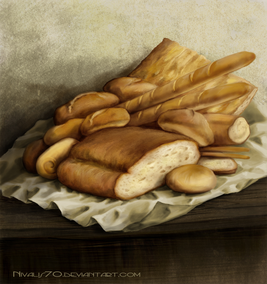 Stale bread by Nivalis70
