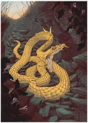 Golden Snake by Nivalis70