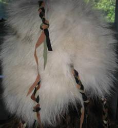 Shamanic wolf headdress 3 by lupagreenwolf