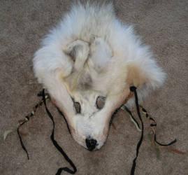 Shamanic wolf headdress 4 by lupagreenwolf