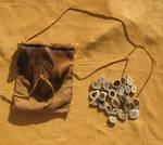 Elk antler rune set