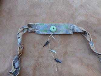 Custom wolf totem tail belt by lupagreenwolf