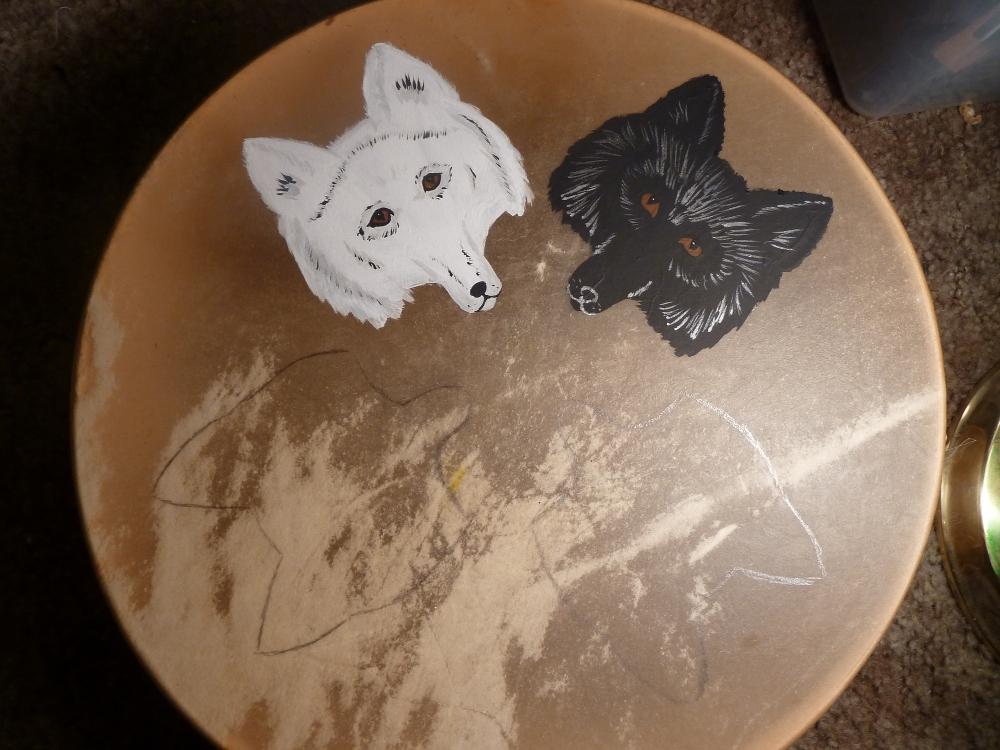 Sneak peek - fox drum by lupagreenwolf