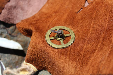 Steampunk Scavenger - Belt Detail 2