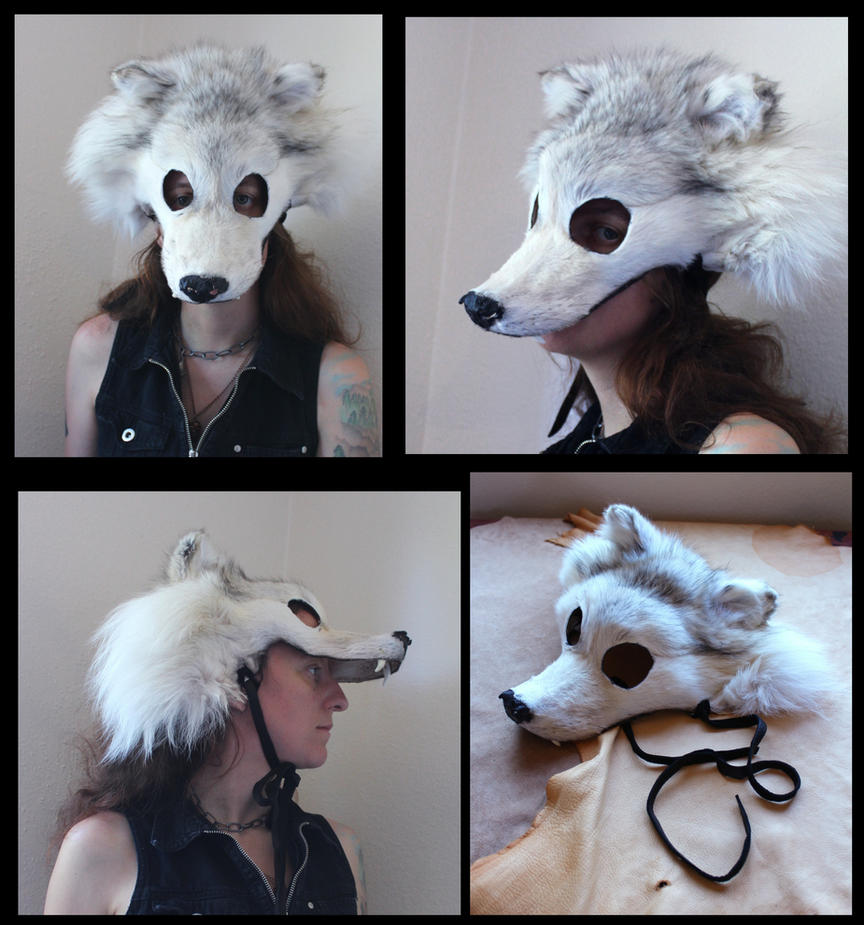 Wolf Fur Mask For Sale Images & Pictures - Becuo