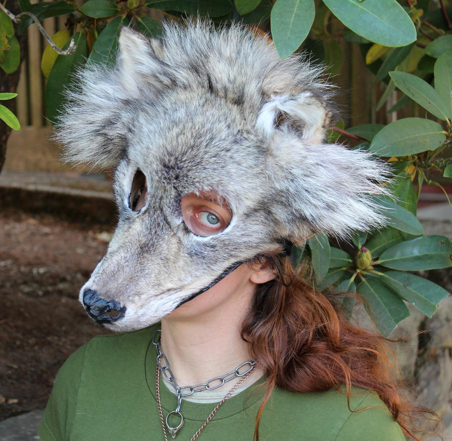 Lobo animal www imgarcade com online image arcade - Gray Wolf Mask By Lupagreenwolf On Deviantart