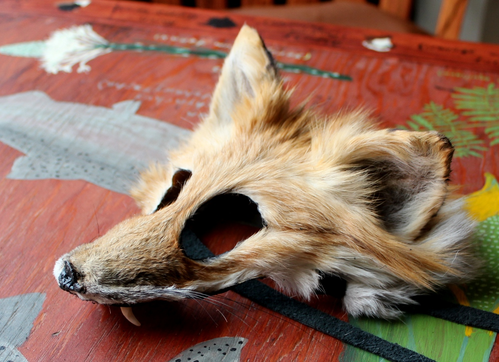 red fox mask with teeth by lupagreenwolf on deviantart. Black Bedroom Furniture Sets. Home Design Ideas