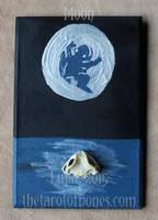 The Tarot of Bones: Moon by lupagreenwolf