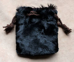 Sheared Fur Pouch by lupagreenwolf