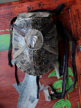 Turtle Shell Pouches!
