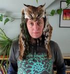 HUGE Bobcat Headdress