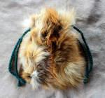 Red Fox Fur Pouch
