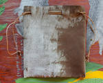 Mottled Leather Pouch