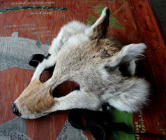 New Fox and Coyote Masks - 12-22-16 by lupagreenwolf